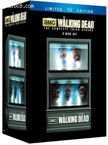 The Walking Dead Season 3 Limited Edition [Blu-ray] Cover