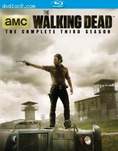 The Walking Dead: The Complete Third Season [Blu-ray] Cover