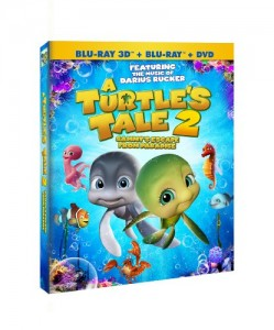 A Turtle's Tale 2: Sammy's Escape from Paradise (DVD/Blu-Ray/3D Combo) Cover
