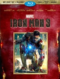 Iron Man 3 (Three-Disc 3D Blu-ray / 2D Blu-ray / DVD + Digital Copy) Cover