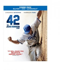 42 (Blu-ray/DVD + UltraViolet Digital Copy Combo Pack) Cover