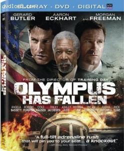 Cover Image for 'Olympus Has Fallen (Two Disc Combo: Blu-ray / DVD + UltraViolet Digital Copy)'