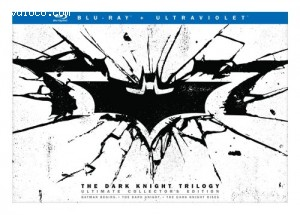 Cover Image for 'The Dark Knight Trilogy: Ultimate Collector's Edition'
