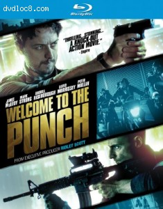Welcome to the Punch [Blu-ray] Cover