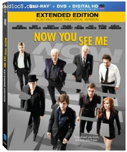 Now You See Me [Blu-ray] Cover