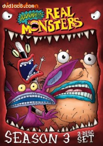 Aaahh!!! Real Monsters: Season Three Cover
