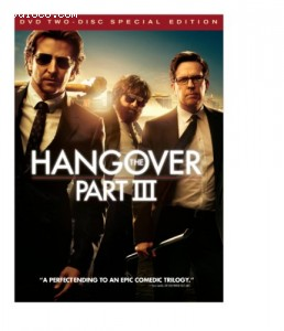 Hangover Part III, The (Two-Disc Special Edition DVD+Ultraviolet) Cover