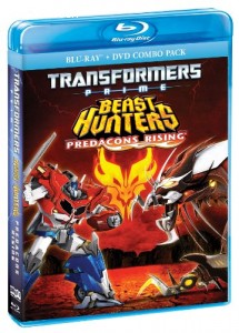Transformers Prime: Predacons Rising [Blu-ray] Cover