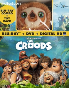 The Croods (Blu-ray / DVD + Digital Copy + Toy) Cover