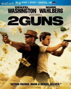 2 Guns (Blu-ray + DVD + Digital HD with UltraViolet) Cover