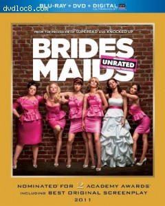 Bridesmaids (Blu-ray + DVD + DIGITAL with UltraViolet) Cover