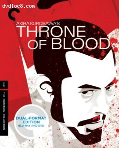 Throne of Blood (Criterion Collection) (Blu-ray/DVD) Cover