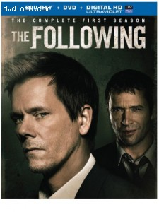 Following, The: The Complete First Season [Blu-ray] Cover