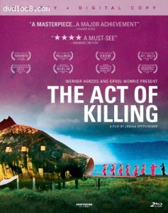 Act of Killing, The [Blu-ray] Cover