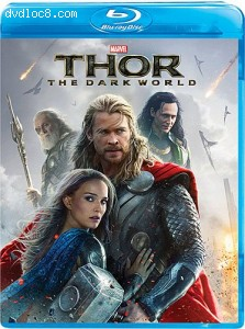 Cover Image for 'Thor: The Dark World (1-Disc Blu-ray)'