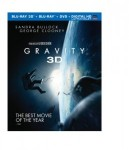 Cover Image for 'Gravity (Blu-ray 3D + Blu-ray + DVD + UltraViolet Combo Pack)'