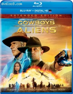 Cowboys & Aliens - Extended Edition (Blu-ray + DIGITAL HD with UltraViolet) Cover