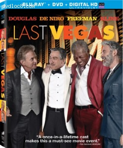 Last Vegas (Two Disc Combo: Blu-ray / DVD + UltraViolet Digital Copy) Cover