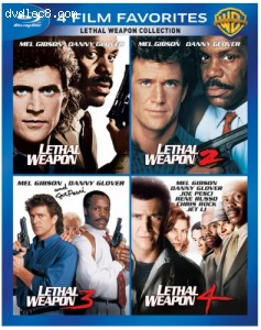 Cover Image for '4 Film Favorites: Lethal Weapon'
