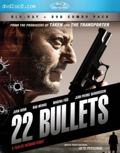 22 Bullets BD+DVD Combo [Blu-ray] Cover