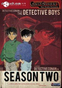 Case Closed: Season Two (Viridian Collection) Cover