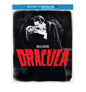 Dracula (1931) (Blu-ray + DIGITAL HD with UltraViolet) Cover