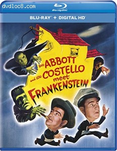 Abbott and Costello Meet Frankenstein (Blu-ray + DIGITAL HD with UltraViolet) Cover