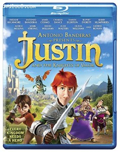 Justin & The Knights of Valour [Blu-ray] Cover