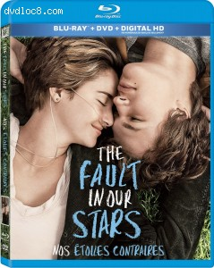 The Fault in Our Stars (Blu-ray + DVD) Cover