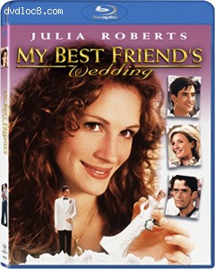 My Best Friend's Wedding (4K-Mastered + UltraViolet)  [Blu-ray] Cover