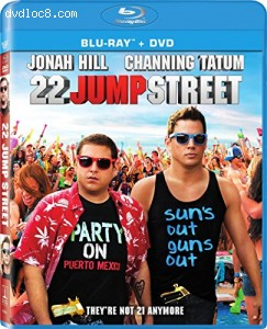 22 Jump Street (2 Discs) [Blu-ray] Cover