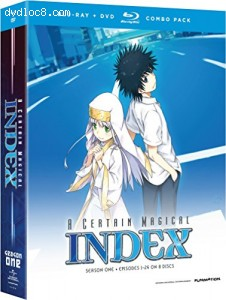A Certain Magical Index: Complete Season 1 (Blu-ray/DvD Combo)