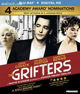 The Grifters [Blu-ray] Cover
