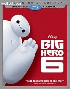 Cover Image for 'Big Hero 6  (Blu-ray + DVD + Digital HD)'