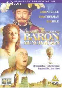 Adventures of Baron Munchausen, The Cover