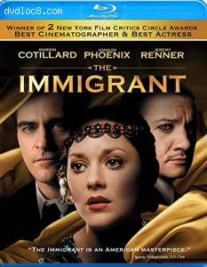 Immigrant, The [Blu-ray] Cover