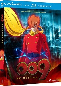 009 Re: Cyborg - Anime Movie [Blu-ray]