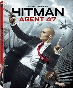 Hitman: Agent 47 Blu-ray Cover