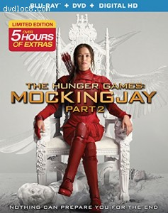 Hunger Games, The : Mockingjay Part 2 [Blu-ray + DVD + Digital HD] Cover