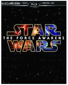 Star Wars: The Force Awakens (Blu-ray/DVD/Digital HD) Cover