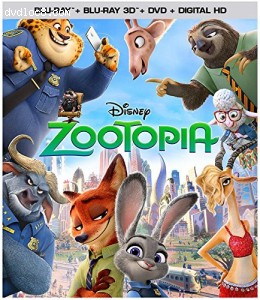 Zootopia (3D/BD/DVD/Digital HD) [Blu-ray] Cover
