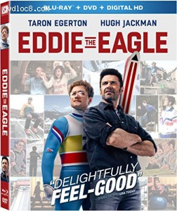 Eddie The Eagle [Blu-ray] Cover