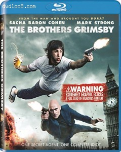 The Brothers Grimsby [Blu-ray] Cover
