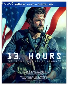 Cover Image for '13 Hours: The Secret Soldiers of Benghazi'