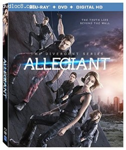 The Divergent Series: Allegiant [Blu-ray + DVD + Digital HD] Cover