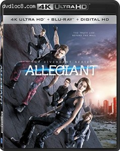 The Divergent Series: Allegiant [4K Ultra HD + Blu-ray + Digital HD] Cover