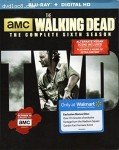 Cover Image for 'Walking Dead: The Complete Sixth Season Walmart Exclusive Edition Bluray, The'