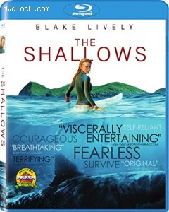 The Shallows [Blu-ray] Cover