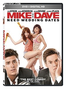 Mike & Dave Need Wedding Dates Cover