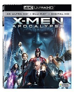X-men: Apocalypse [4K Ultra HD + Blu-ray + Digital HD] Cover